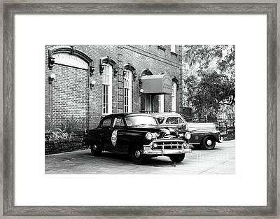 Savannah Police Station Framed Print by John Rizzuto