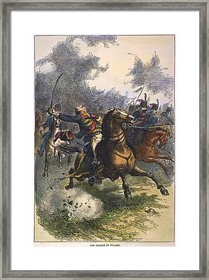 Savannah: Pulaski, 1779 Framed Print