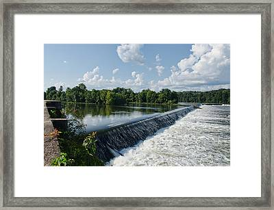 Savannah Rapids Framed Print