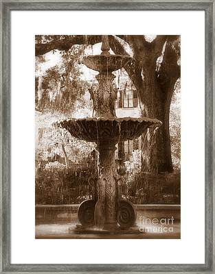 Savannah Romance Framed Print by Carol Groenen