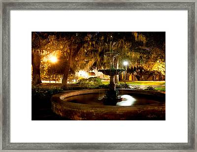 Savannah Romance Framed Print