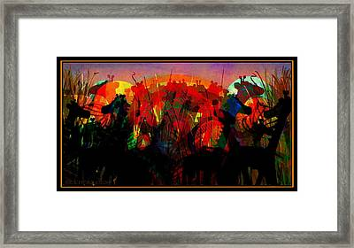 Savannah Safari Framed Print