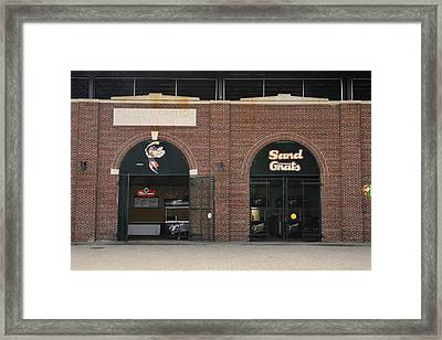 Savannah Sand Gnats At Grayson Stadium Framed Print