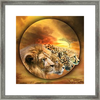Savannah Spirits Framed Print