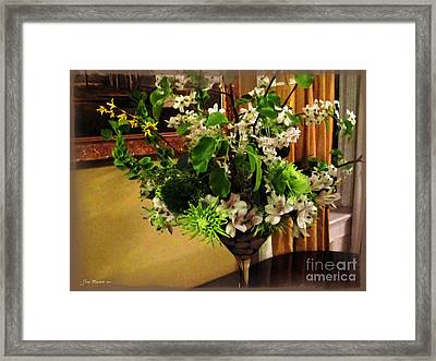 Savannah Still Life Framed Print by Joan  Minchak