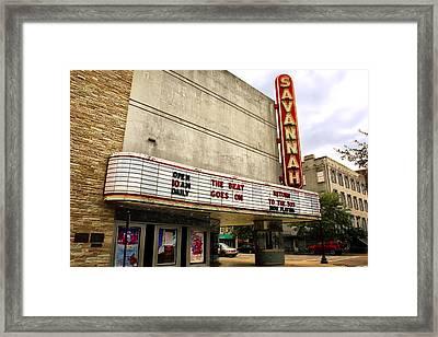 Savannah Theater Framed Print by Diana Powell