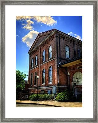 Savannah Visitor Center Framed Print