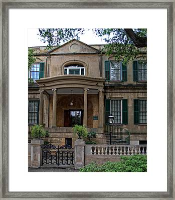 Savannah's Owens - Thomas House Framed Print