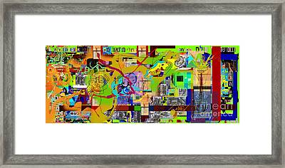 Save Me From Loving Money 4h Framed Print by David Baruch Wolk