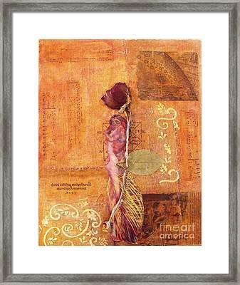 Save Me Framed Print by Leslie Jennings