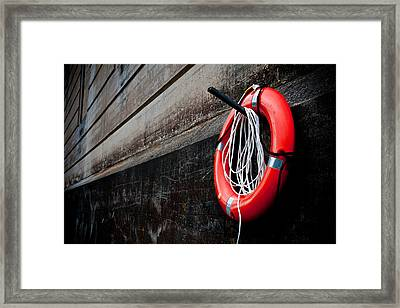 Save Me Framed Print