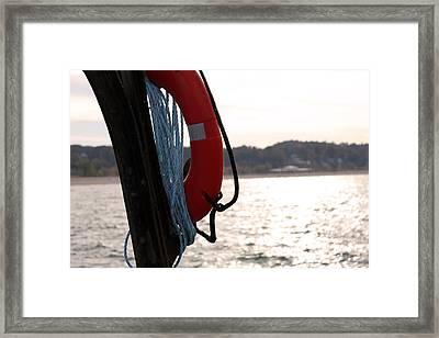 Save Me Framed Print