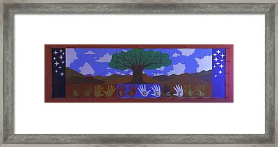 Framed Print featuring the photograph Save Our Planet by Ram Vasudev