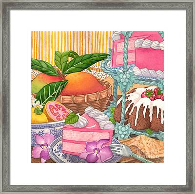 Save Room For Desert Framed Print by Tammy Yee