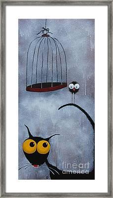 Save The Bird Framed Print by Lucia Stewart