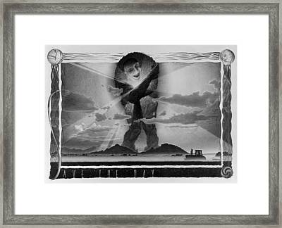 Save The Day Framed Print by Vincent Jimenez