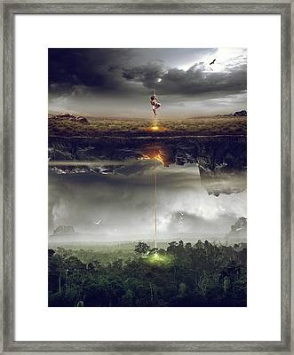 Save The World Framed Print