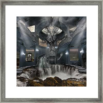 Saved By Grace Framed Print by Keith Kapple
