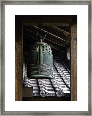 Saved By The Bell Framed Print by Barbara Bitner