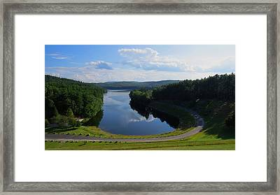 Saville Dam Scenic Framed Print by Stephen Melcher