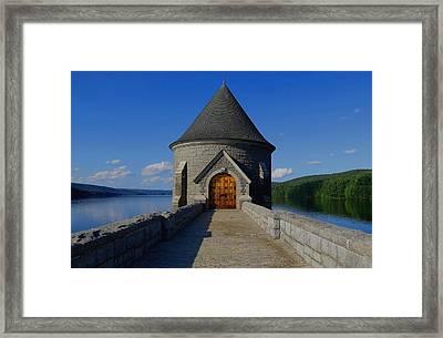 Saville Dam Framed Print by Stephen Melcher