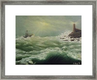 Saving Light Framed Print by Svetla Dimitrova