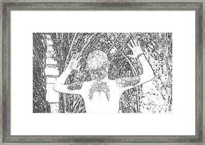 Savior Framed Print