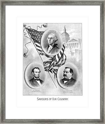 Saviours Of Our Country  Framed Print by War Is Hell Store