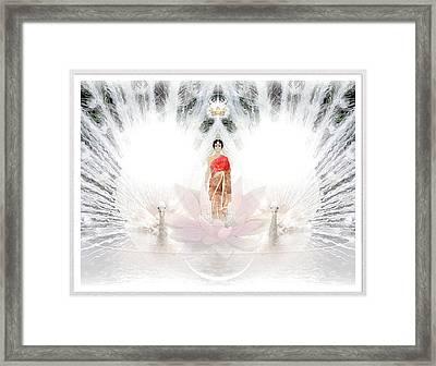 Savitri II Framed Print by Harald Dastis
