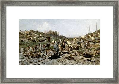 Savitski, Konstantin Apollonovitch Framed Print by Everett