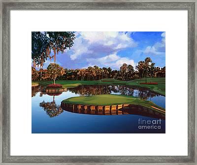 Sawgrass 17th Hole Framed Print