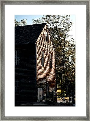 Sawmill Sunlight  Framed Print by Olivier Le Queinec
