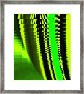Sawtooth Abstract 1 Framed Print