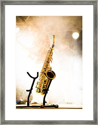Saxophone  Framed Print by Bob Orsillo