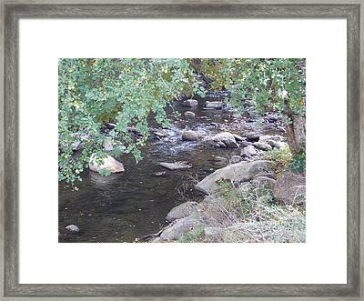 Saxtons River Framed Print by Catherine Gagne