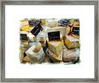 Say Cheese Framed Print by Scott Kingery