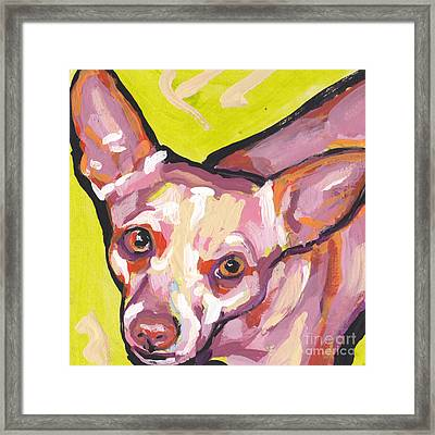 Say Chiii's Framed Print by Lea S