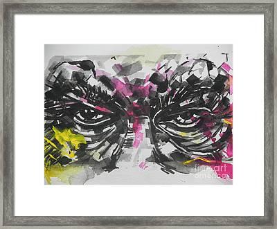 Say No To Bullies   Framed Print