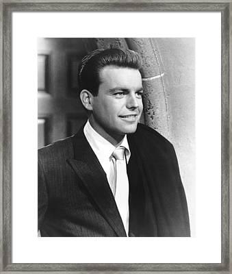 Say One For Me, Robert Wagner, 1959, Tm Framed Print