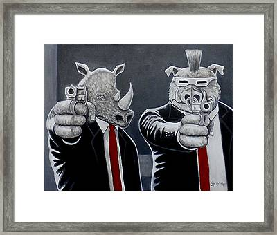 Say Turtles Again Framed Print by Al  Molina
