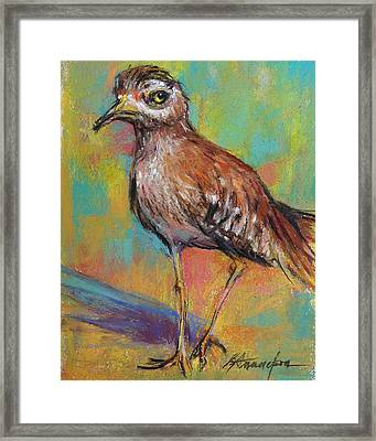 Say What Framed Print by Beverly Amundson