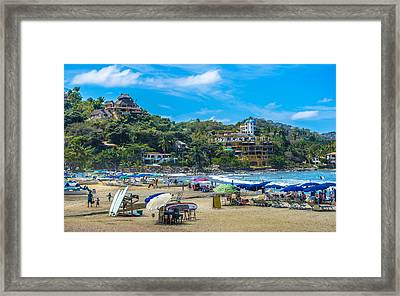 Sayulita Mexico Framed Print by Douglas J Fisher