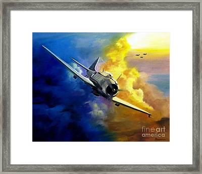 Sbd Dauntless Framed Print