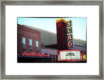 Scad Framed Print by John Rizzuto