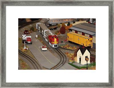 Scale Model Trains 5d21779 Framed Print
