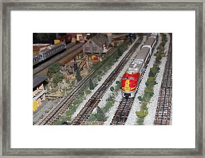 Scale Model Trains 5d21810 Framed Print