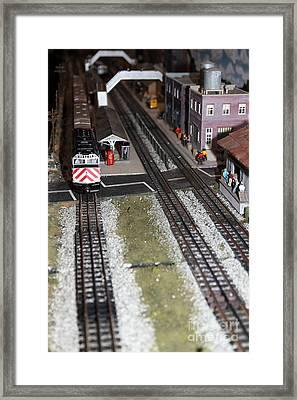 Scale Model Trains 5d21831 Framed Print