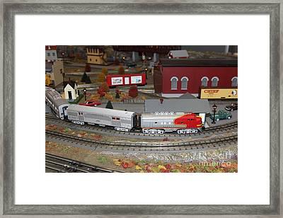 Scale Model Trains 5d21870 Framed Print