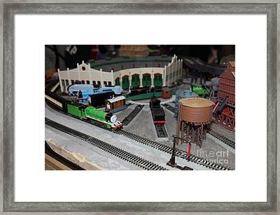 Scale Model Trains 5d21875 Framed Print