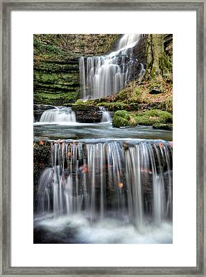 Scaleber Force Steps Framed Print by Chris Frost